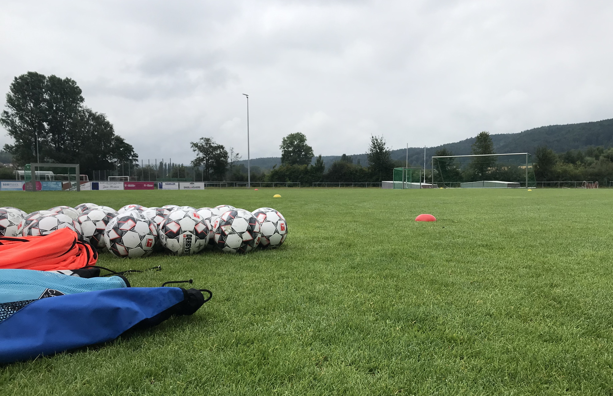 Trainingseinheit am Sonntagmorgen